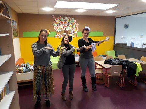 Semaine 1 2017-2018 : Danse des Vahinés - Maternelles